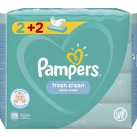 Pampers Fresh Μωρομάντηλα 208τεμ (4x52τεμ)
