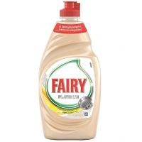 Fairy Υγρό  πιάτων Platinum Λεμόνι 400ml