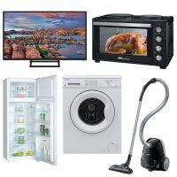 Φοιτητικό Πακέτο Νο4 2019 ( Ψυγείο , Κουζίνα, Τηλεόραση, Πλυντήριο, Σκούπα )