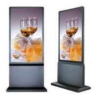 "Amber 55"" Digital Signage Ultra Thin Info Kiosk"