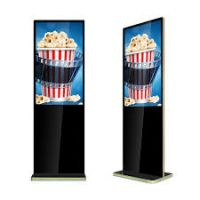 "Amber 49"" Digital Signage Touchscreen Ultra Thin Info Kiosk"