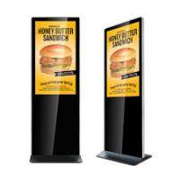 "Amber 43"" Digital Signage Ultra Thin Info Kiosk"