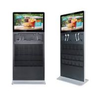 "Amber 32"" Digital Signage Ultra Thin Info Kiosk"