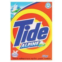 Απορρυπαντικό Χεριού Tide Σκόνη Alpine 450gr