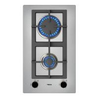 Teka EFX 30.1 2G Αυτόνομη Εστία Αερίου Domino