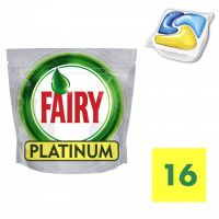 Fairy Platinum Lemon Ταμπλέτες Πλυντηρίου Πιάτων 16 τεμ 24798