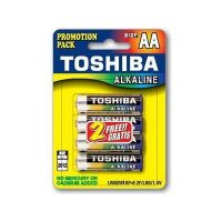 Toshiba LR06 BP6 - Μπαταρίες εικόνας & ήχου - Αlkaline