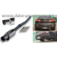 HKS RACING MUFFLER CZ4A SINGLE EXIT