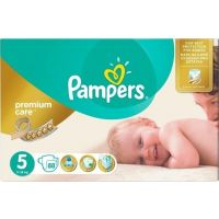 Pampers Πάνες Premium Care (88τεμ) No5 (11-16kg)