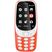 Nokia 3310 DS Warm Red Κινητό Τηλέφωνο