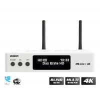 Edision OS MIO+ 4K S2X + S2/T2/C White Δορυφορικός Δέκτης