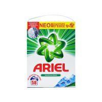 Ariel Mountain Spring 58 Mεζούρες Σκόνη Απορρυπαντικό Ρούχων 8001841464350