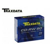 Traxdata CD-RW 12x 80min 10pk Slim Jewel Case