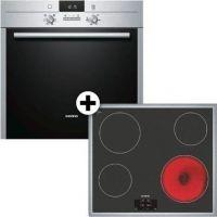 Siemens SA23FN660 (HB23AB521 + ET645HE17) Σετ Κουζίνα Εστία
