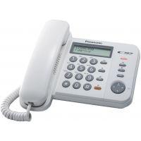 Panasonic KX-TS580EX2W Λευκό Τηλέφωνο